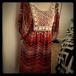 Boho style boutique dress